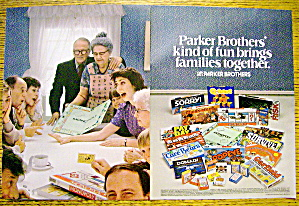 1983 Parker Brothers Games with Sorry, Monopoly & More (Image1)