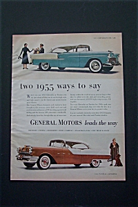 1954 General Motors W/ Chevy Bel Air/pontiac Catalina