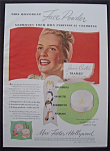 1947  Max  Factor  with  Janis  Carter (Image1)