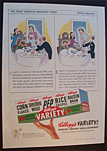 1947  Kellogg's  Variety  Cereal   Pack (Image1)