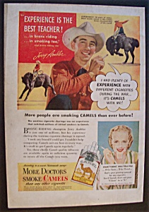 1947 Camel Cigarettes With Jerry Ambler