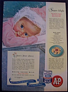 1947 White House Evaporated Milk