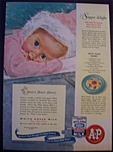 1947 White House Evaporated Milk (Image1)