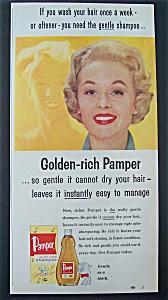 1957  Pamper  Shampoo  with  Tippi  Hedren (Image1)