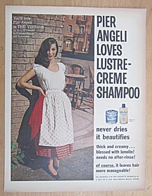 1957 Lustre Creme Shampoo with Pier Angeli (Image1)