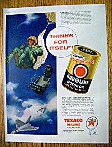 Vintage Ad: 1956 Havoline Motor Oil (Image1)
