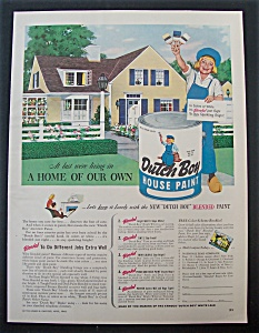 1948  Dutch  Boy Paints (Image1)