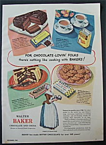 1948 Baker's Chocolate