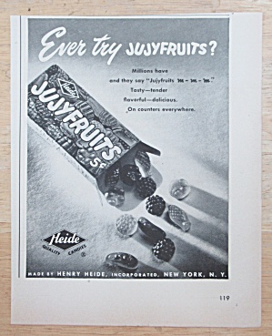 1950 Jujyfruits with a Box of Heide Jujyfruits (Image1)