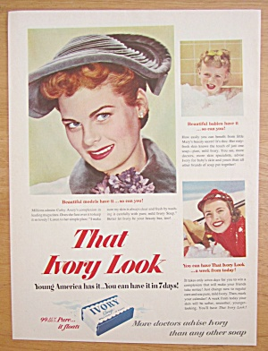 1952 Ivory Soap with Cathy Avery  (Image1)