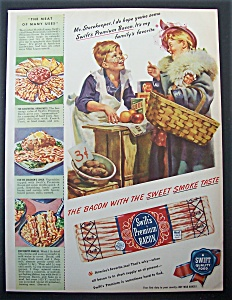 1945 Swift's Premium Bacon