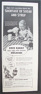 1945 Brer Rabbit Molasses