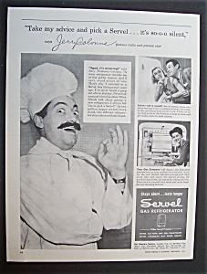 1945 Servel Gas Refrigerator with Jerry Colonna (Image1)