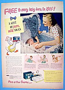 Vintage Ad: 1945 Swan Soap (Image1)