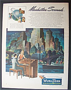 1945 Wurlitzer With A Man Playing The Piano