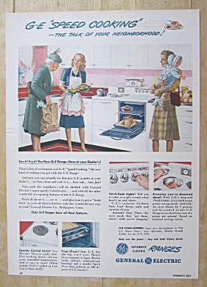 1945 General Electric Range w/ General Electric Cooking (Image1)