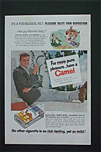 1955 Camel Cigarettes with Actor Brian Keith Smoking  (Image1)