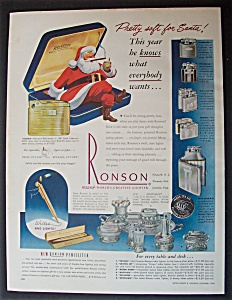 1948 Ronson Lighters