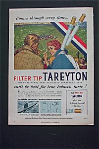 1955 Tareyton Cigarettes w/Man & Woman At Football Game (Image1)