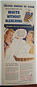 1945 Oxydol Laundry Detergent with 2 Women & Oxydol (Image1)