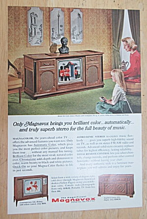 1966 Magnavox with Color Stereo Theatre  (Image1)