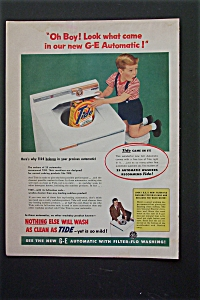 1955 G-E Automatic Washer with Boy with Surprised Look (Image1)