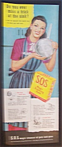1947  S. O. S.  Magic  Scouring  Pads (Image1)