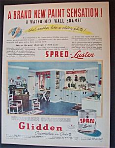 1946  Glidden  Spred  Luster  Paint (Image1)