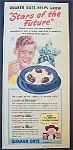 1949  Quaker  Oats  Cereal (Image1)