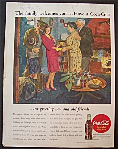 1945 Coca Cola (Coke) With Girl Meeting His Parents