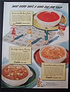 1945 Campbell's Soup