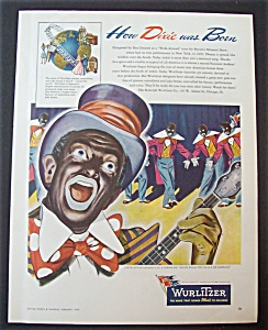 1945 Wurlitzer with A Man Dressed Like Al Jolson (Image1)