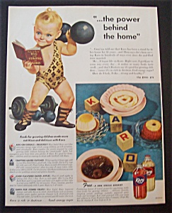 1945 Karo Syrup With The Karo Kid