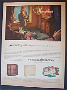 Vintage Ad: 1946 General Electric Musaphonic