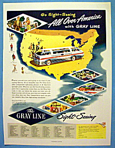 1948 The Gray Line with a Bus Driving  (Image1)