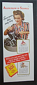 1942  S. O. S.  Magic  Scouring  Pads (Image1)