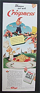 1942 Kellogg Rice Krispies W/little Snap, Crackle & Pop