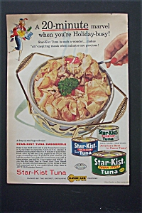 1955 Star-Kist Tuna with Tuna Casserole  (Image1)