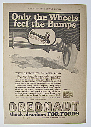 1923 Drednaut Shock Absorbers For Fords with Car (Image1)