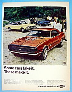Vintage Ad: 1968 Chevrolet Camaro (Image1)