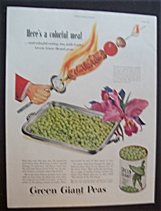 1946 Green Giant Sweet Peas
