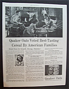 1946 Quaker Oats Cereal