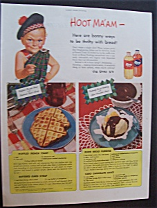 1946 Karo Syrup With The Karo Kid