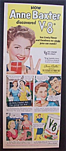1952 V - 8 Vegetable Juice With Anne Baxter