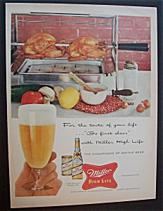 1956  Miller  High  Life  Beer (Image1)