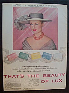 1958 Lux Soap With Martha Hyer