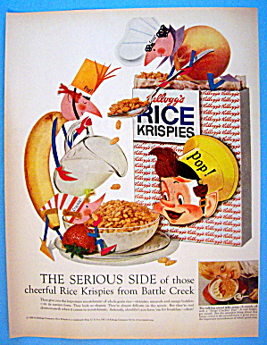 1958 Kellogg's Variety Pack With Snap, Crackle & Pop