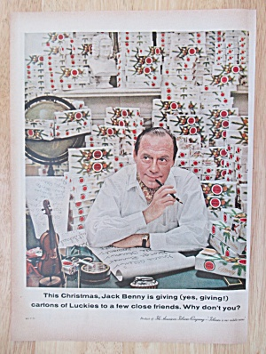 1958 Lucky Strike Cigarettes with Jack Benny (Image1)