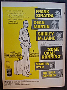 Vintage Ad: 1958 Movie Ad For Some Came Running
