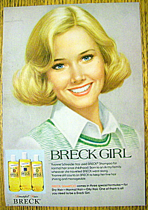 1977 Breck Shampoo with Short Haired Breck Girl (Image1)